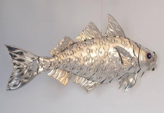 Peixinho de metal