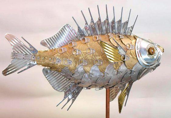 Escultura marinha