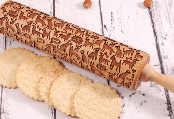 Biscoitos com cãezinhos