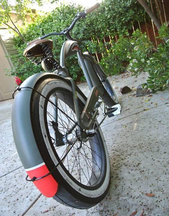 Bicicleta do tempo da guerra
