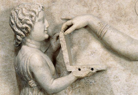 Notebook na Antiguidade