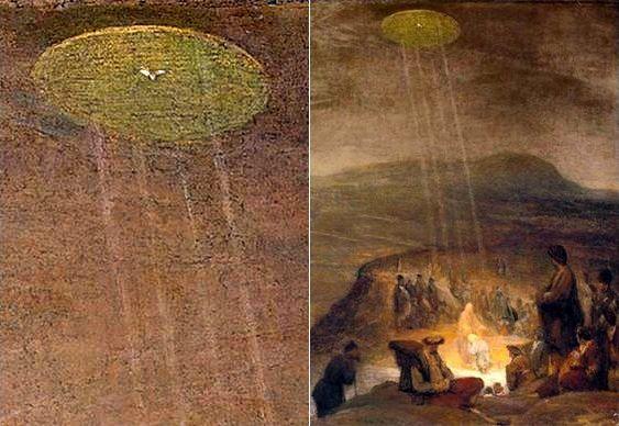 Disco voador nos tempos de Jesus Cristo