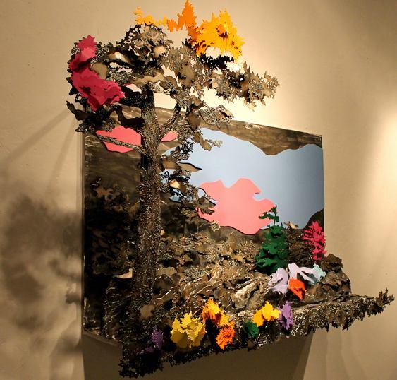 Arte tridimensional