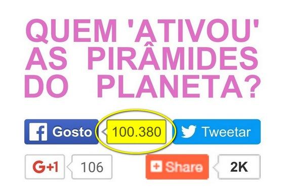 100 mil curtidas no Facebook
