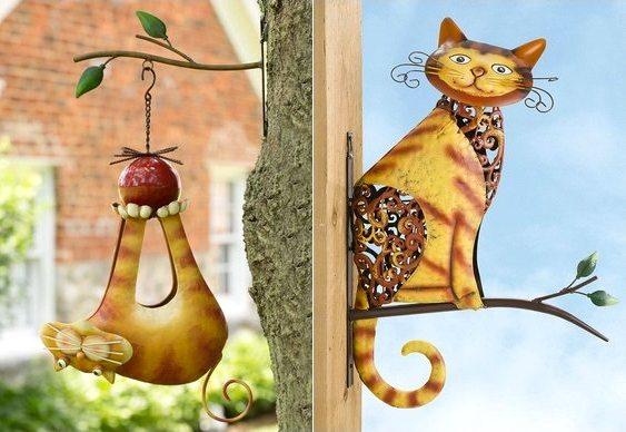 Gatos engraçados para decoração