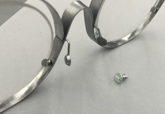 Óculos de aço inoxidável
