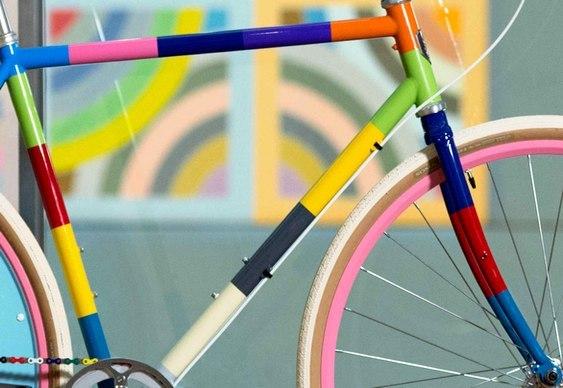 Bike super colorida