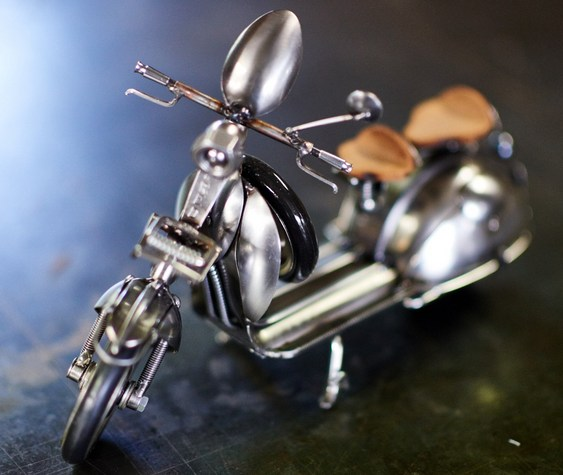 Réplica de scooter