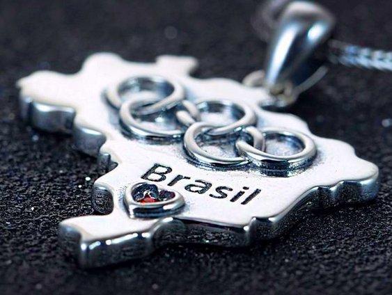Bijuteria Jogos Olímpicos no Brasil