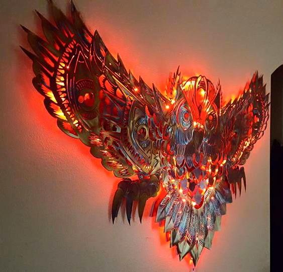 Coruja na decoração