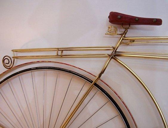 Bicicleta em serralheria artística