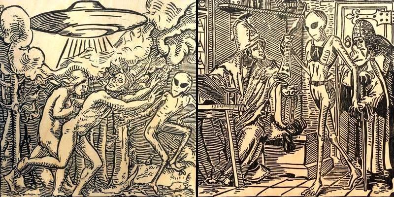 UFOs & Aliens na Idade Média