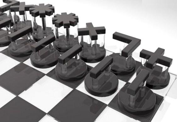 Direção das peças de xadrez