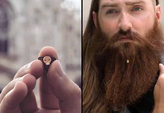 Prendedor de barba