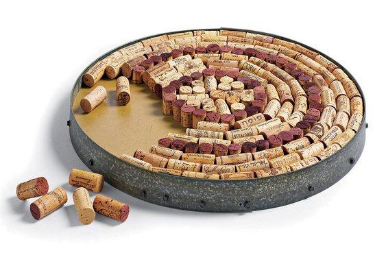 Reciclagem de rolhas de vinho