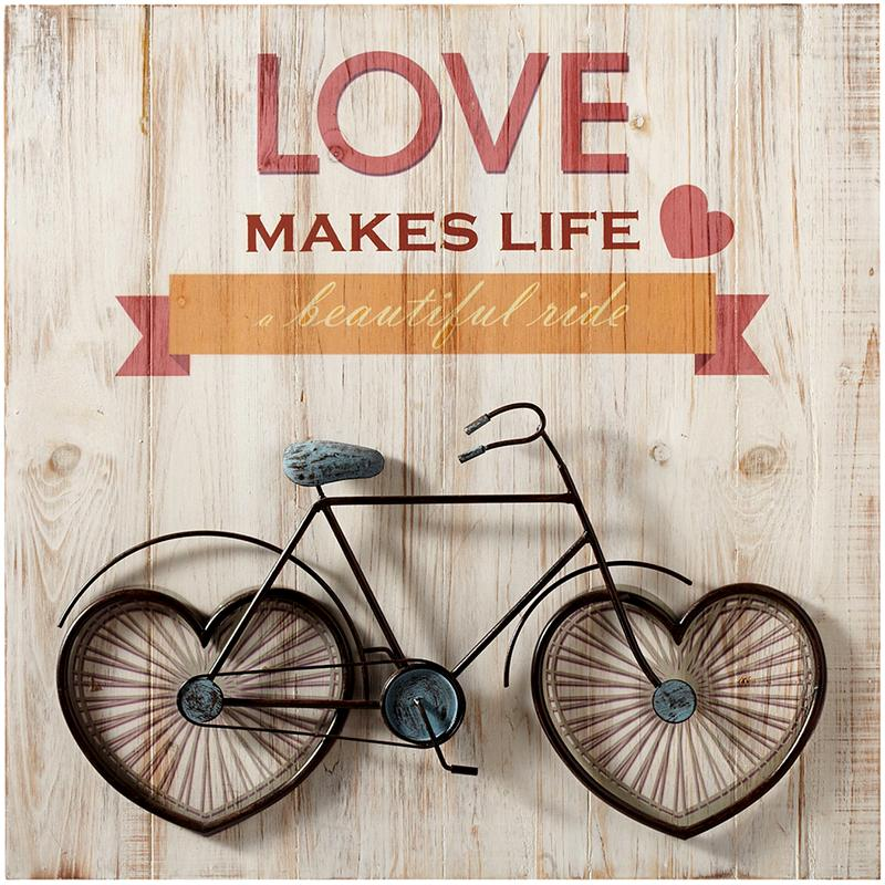 Love makes life a beautiful ride