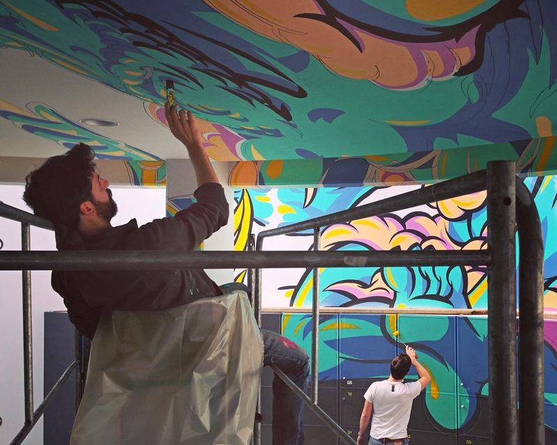 Graffiti em 3D