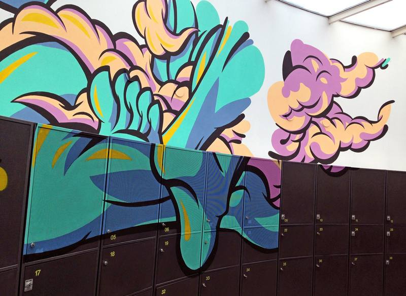 Graffiti valorizado na Europa
