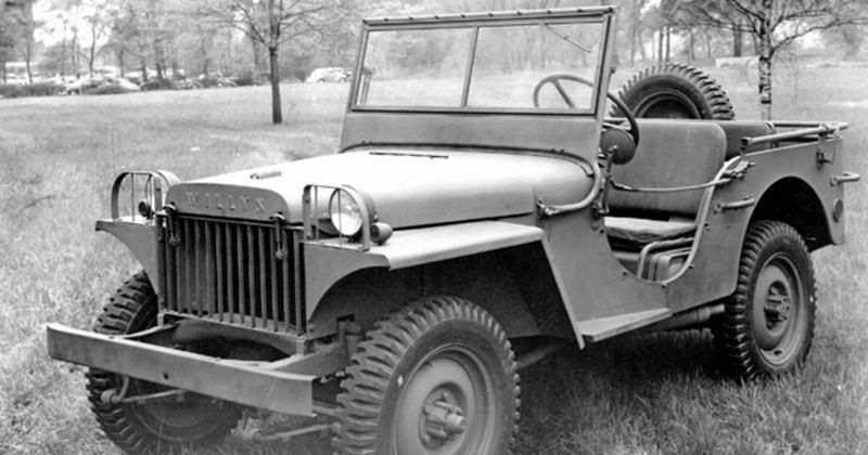 Projeto antigo de Jeep