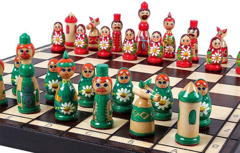 Xadrez com matrioskas