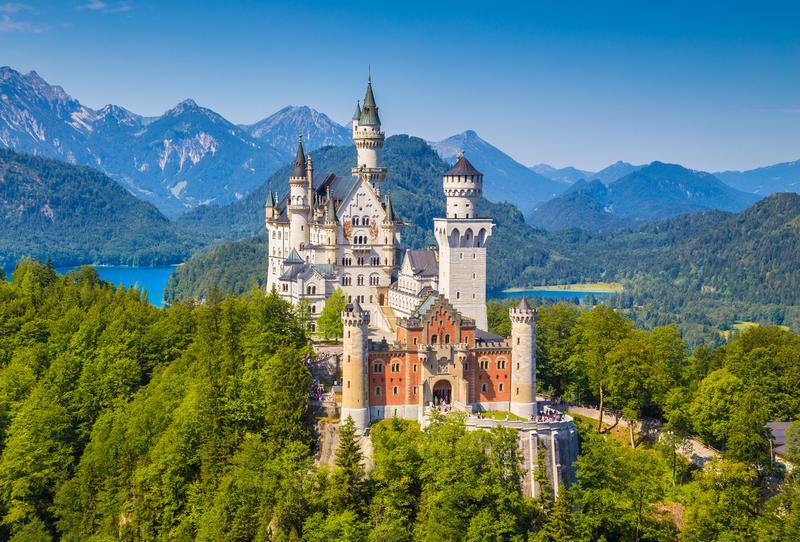 Castelo medieval alemão