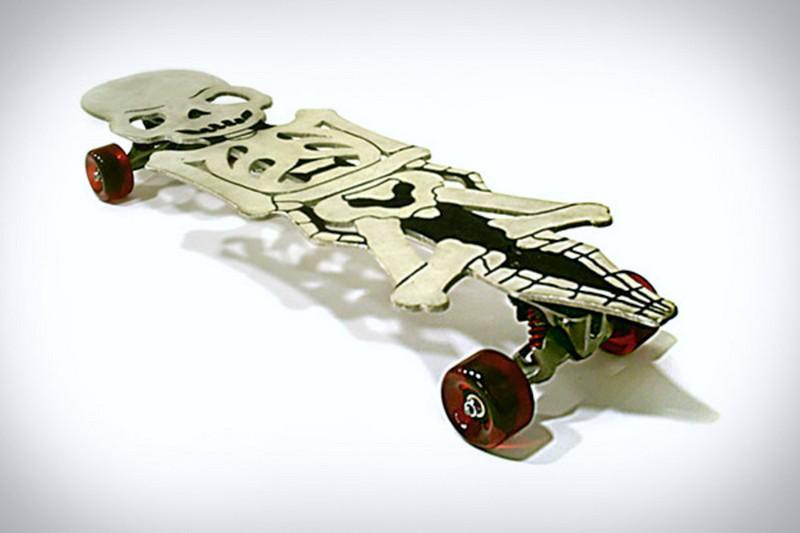 Skate de metal