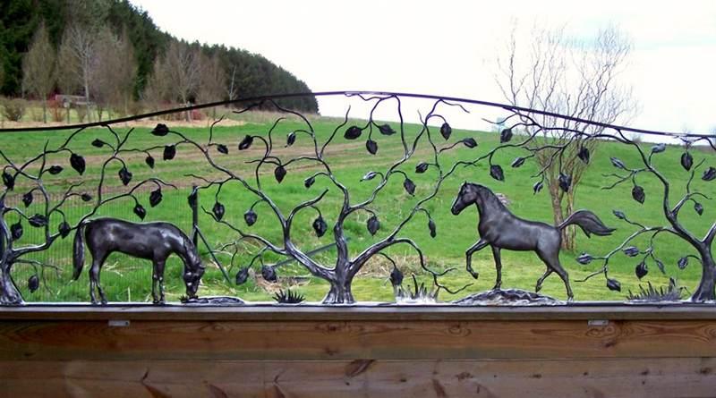 Esculturas para decoração de fazendas