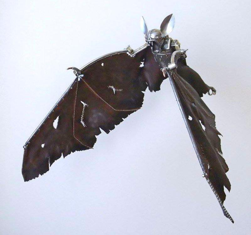 Morcego steampunk
