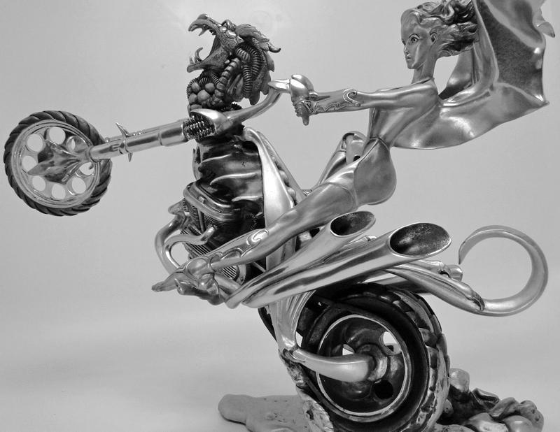 Motocicleta chopper Harley-Davidson