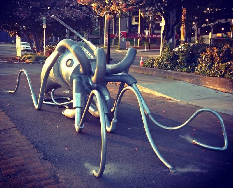 Escultura em Seattle