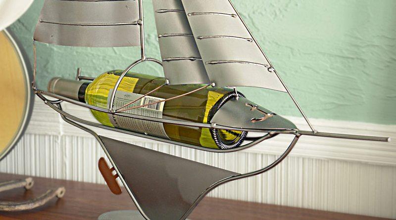 Barco a vela de mesa
