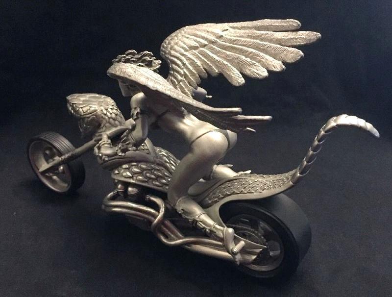 Motocicleta custom cobra