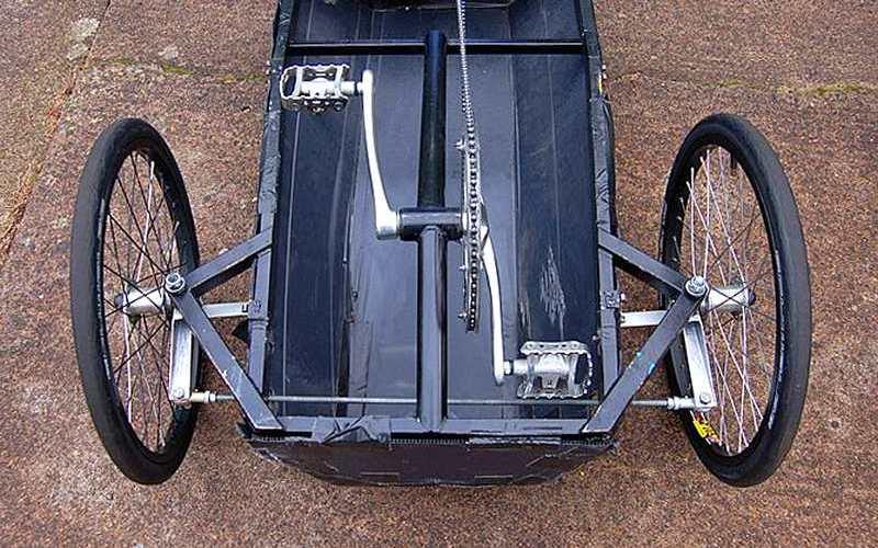 Projeto de carrinho infantil a pedal