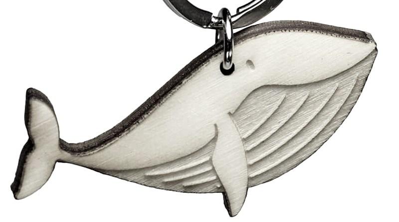 Fábrica de chaveiros com forma de animais marinhos