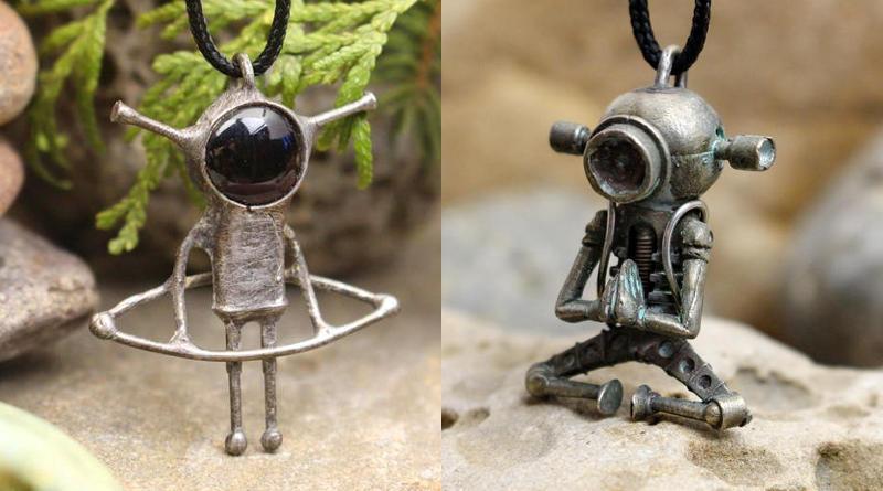 Pingentes com aliens