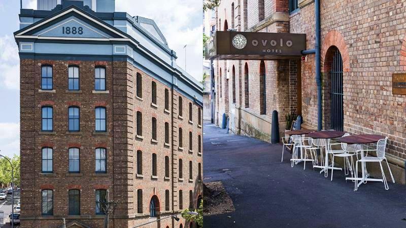 Hotel instalado em antiga fábrica