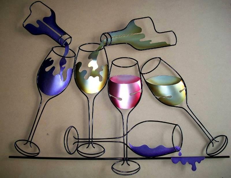 Bebidas para decoração de bar