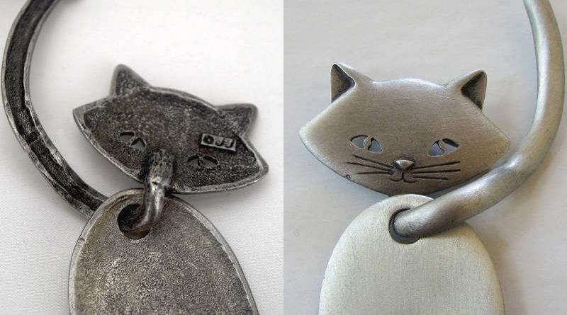 Pingente de gatinho