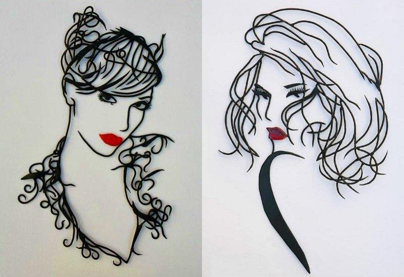 Esculturas femininas