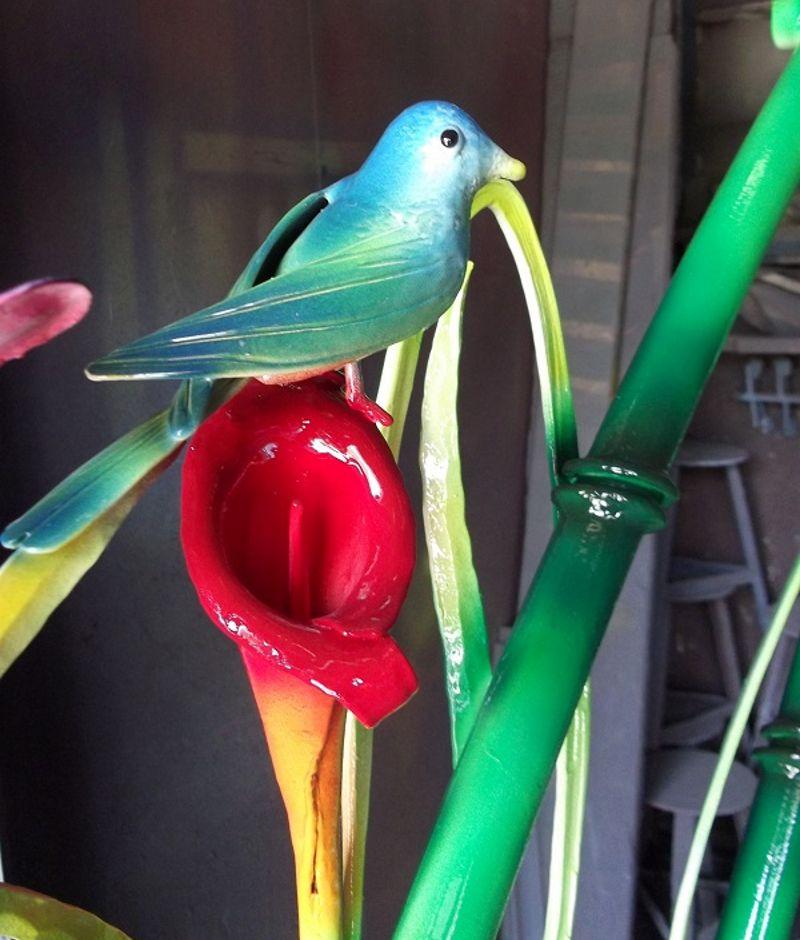 Imitação de bambu de metal