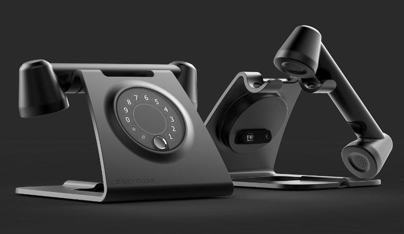 Telefone com design inovador