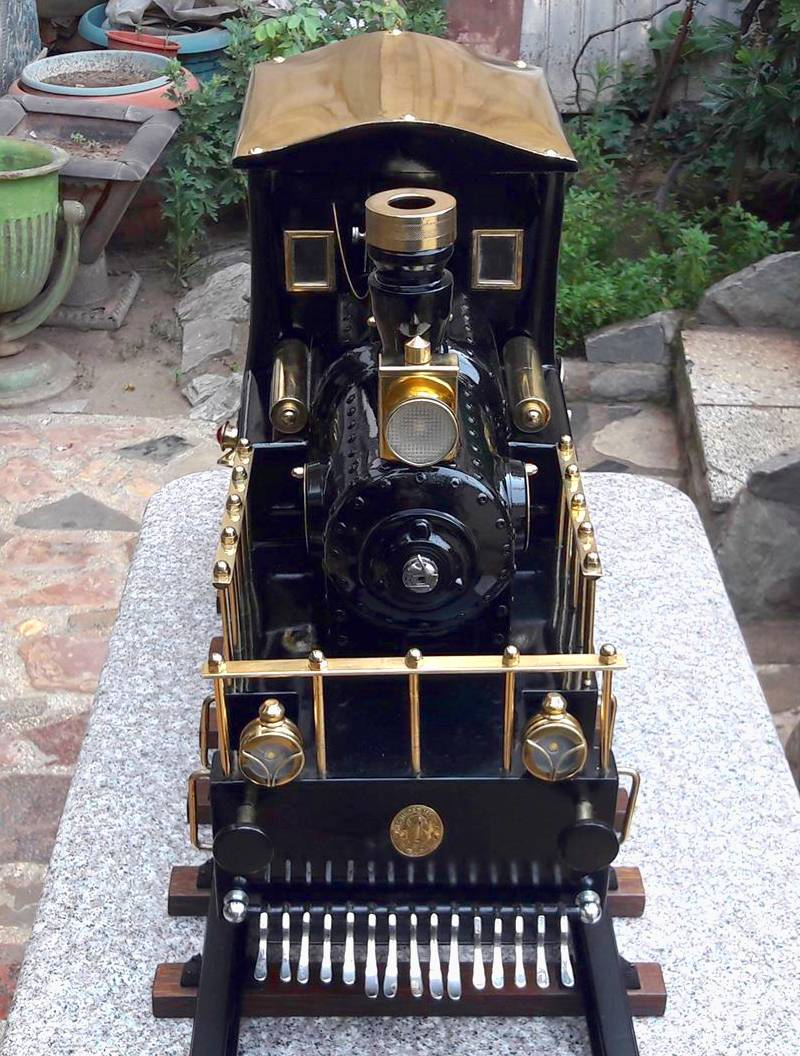 Locomotiva steampunk