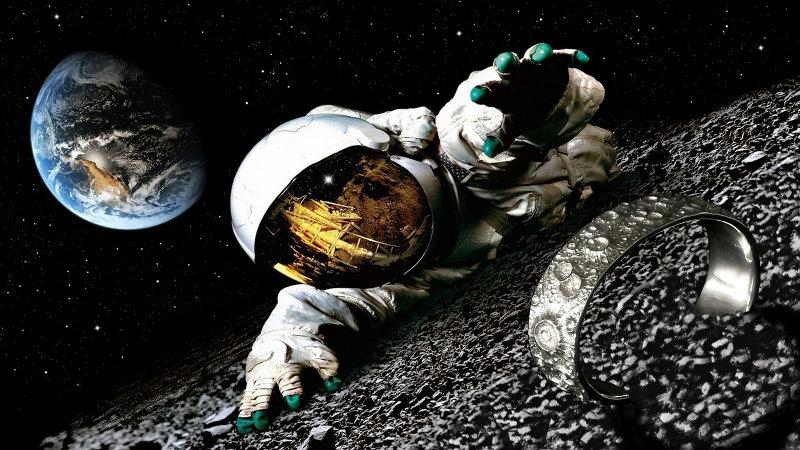 Astronauta faz achado na Lua