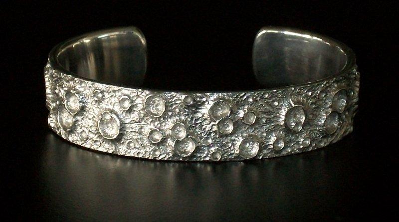 Bracelete prateado Lua