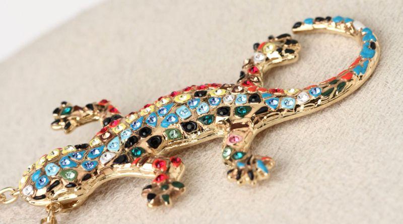 Pingente de salamandra