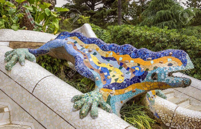 Escultura de Antoni Gaudí