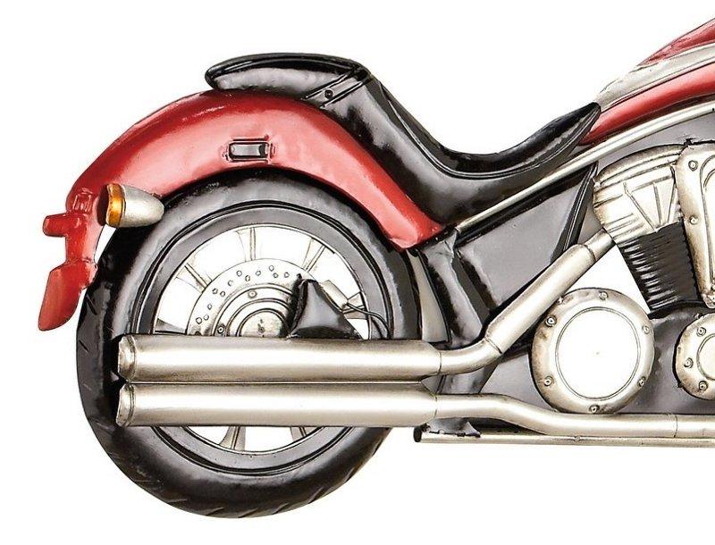 Escultura de moto Harley-Davidson