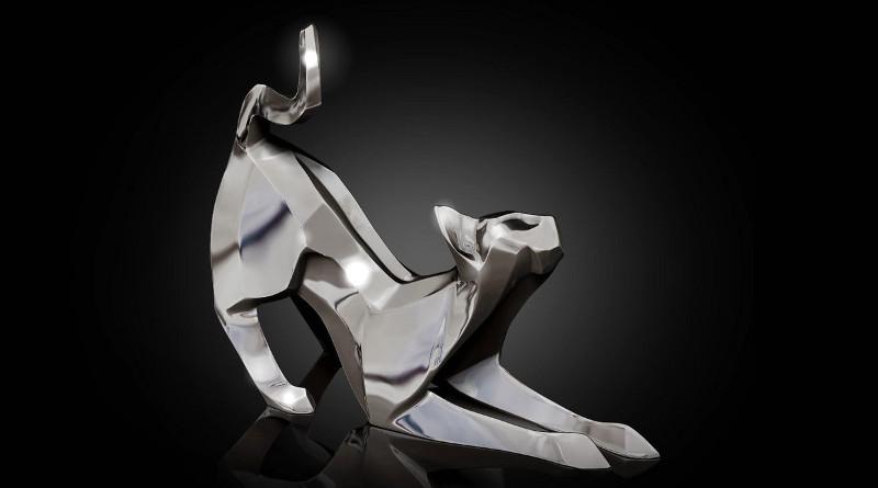 Escultura de origami