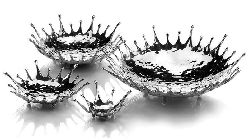 Fruteiras de metal