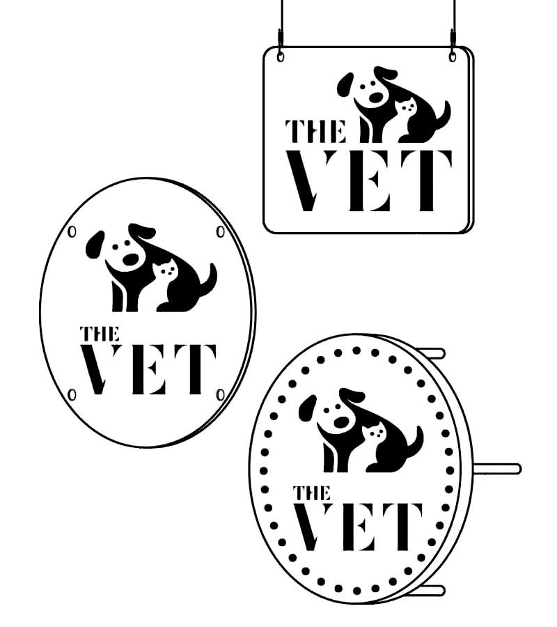 Logomarca para clínica veterinária